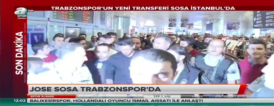 Jose Sosa İstanbul'da