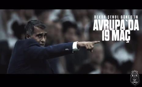Beşiktaş'tan Şenol Güneş paylaşımı: Nice Güneş'li günlere!